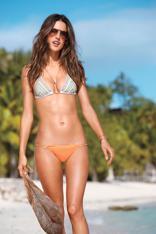 Alessandra Ambrosio Bikini Nude Photos